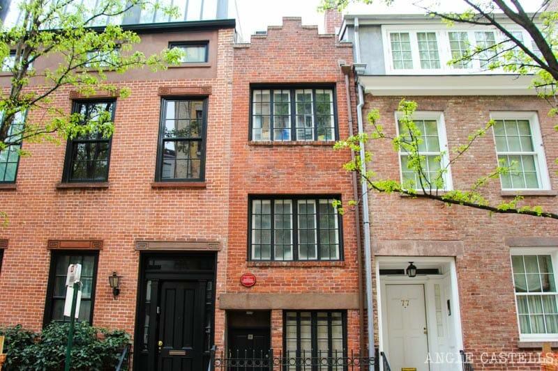 Guía del West Village de Nueva York: la casa más estrecha de Nueva York, en Bedford Street