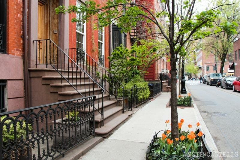 Guía del West Village de Nueva York: las calles de townhouses