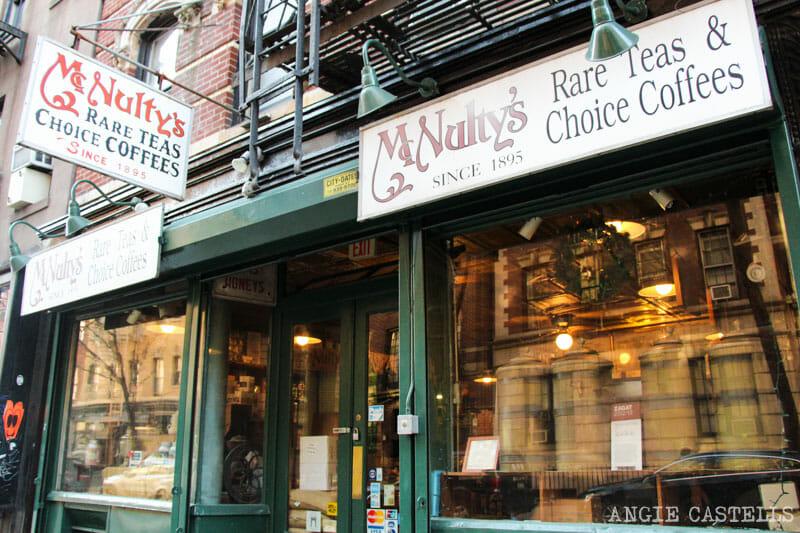 Guía del West Village de Nueva York: Mcnulty Coffe and Tea