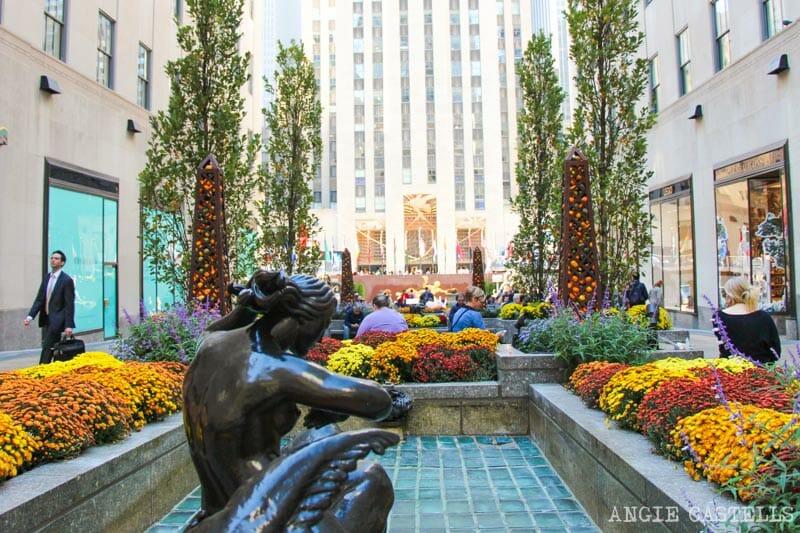 Guía del Rockefeller Center - Channel Gardens