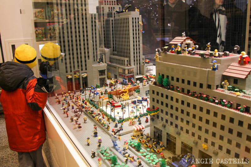 Guía del Rockefeller Center - La tienda LEGO