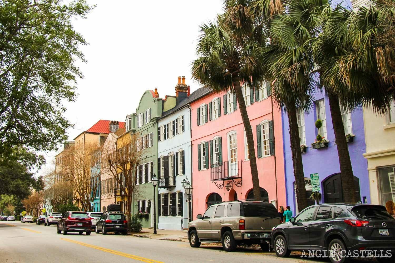 Guía de Charleston: qué ver en 2 días - Rainbow Row