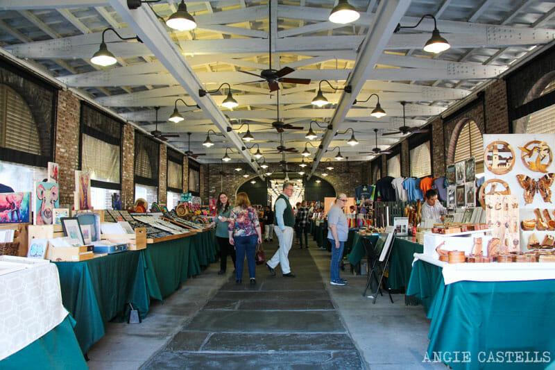 Guía de Charleston: El City Market
