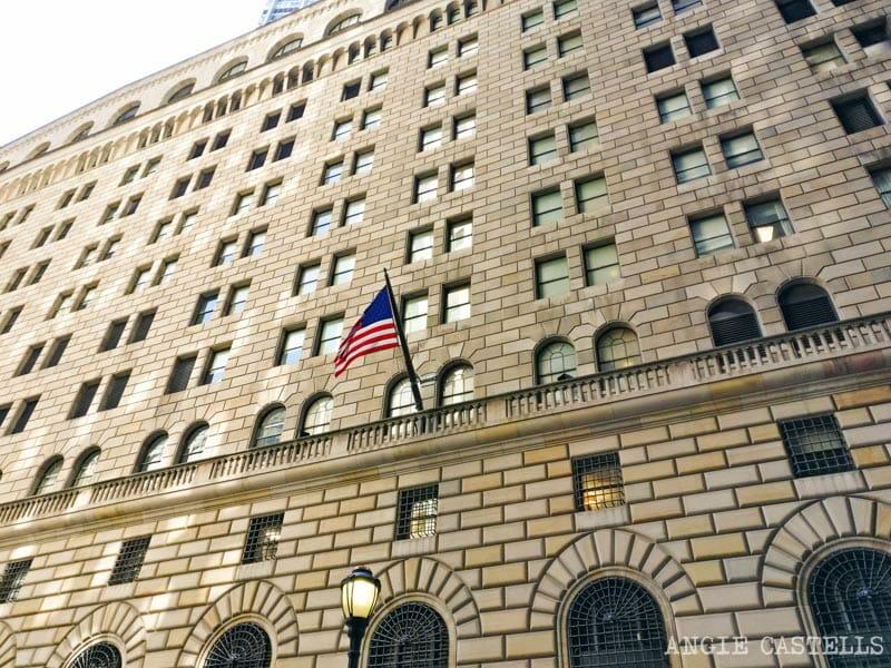 Qué hacer gratis en Nueva York: Visitar la Reserva Federal