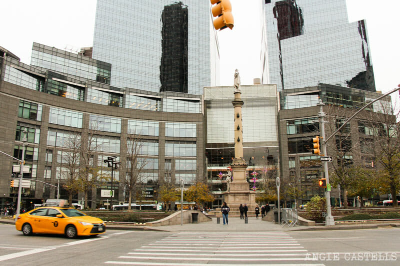 Planes originales en Nueva York - Columbus Circle