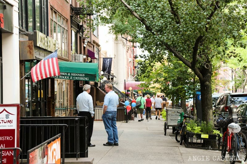 Ruta por Brooklyn Heights - Montague Street