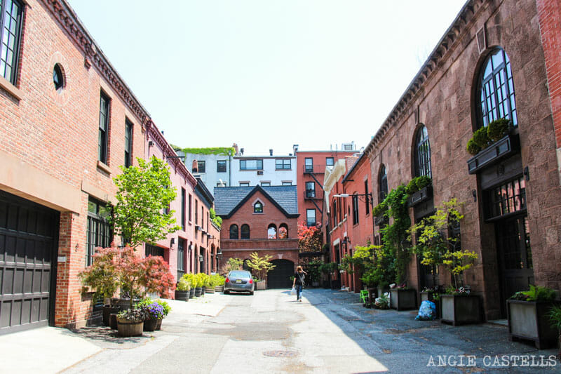 Ruta por Brooklyn Heights - Grace Court Alley