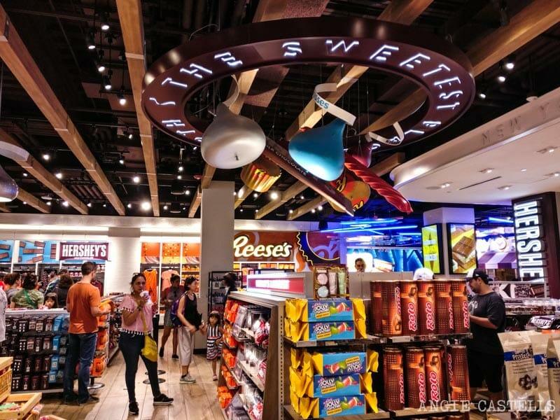 Mejores tiendas de golosinas de Nueva York - Hershey's Chocolate World