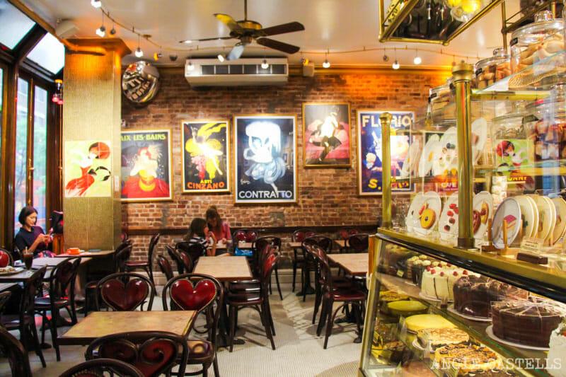 Escenarios de cine en Nueva York: Cafe Lalo en Tienes un email