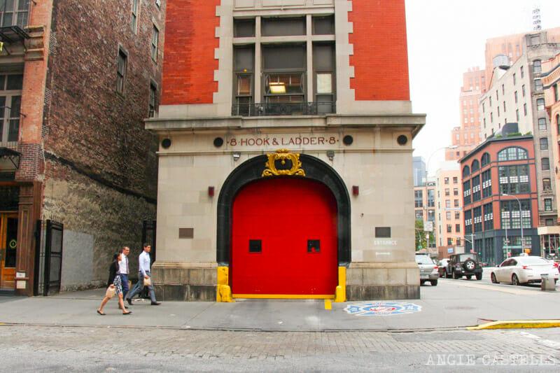 Escenarios de cine en Nueva York: Estación de bomberos en Cazafantasmas