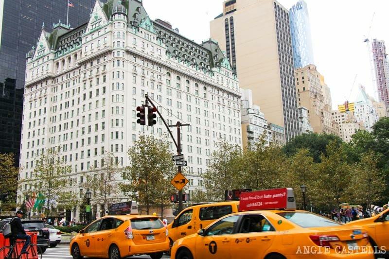 Escenarios de cine en Nueva York: Hotel Plaza Solo en Casa