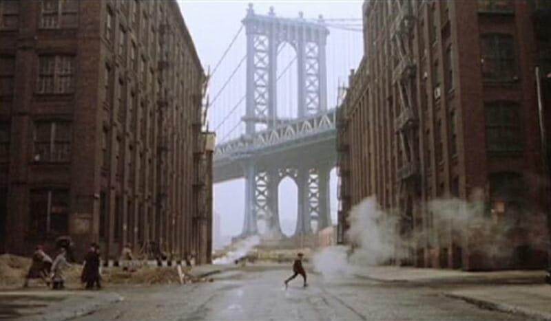 Escenarios de película en Nueva York - Once Upon a Time in America