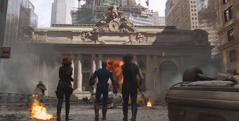 Escenarios de película en Nueva York - The Avengers