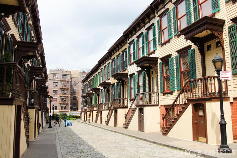 Las calles más bonitas de Nueva York - Sylvan Terrace Washington Heights