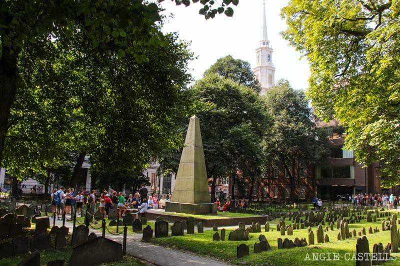 Qué ver en Boston en una excursión desde Nueva York - Granary Burial Ground