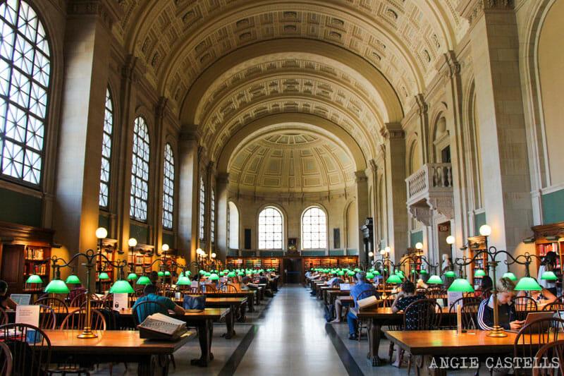 Qué ver en Boston en una excursión desde Nueva York - Boston Public Library