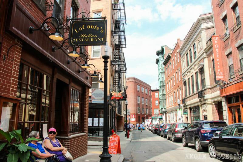 Qué ver en Boston en una excursión desde Nueva York - North End Little Italy