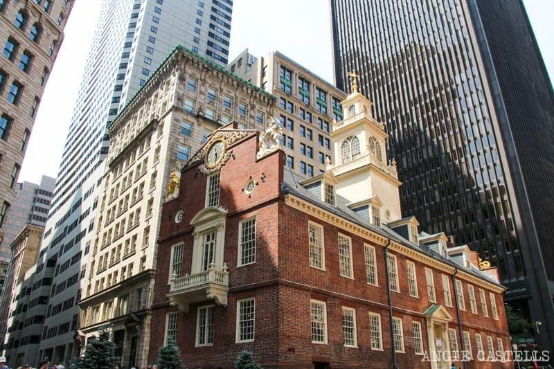 Qué ver en Boston en una excursión desde Nueva York - Old State House