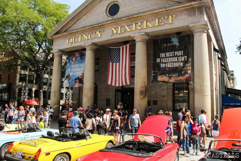 Qué ver en Boston en una excursión desde Nueva York - Quincy Market