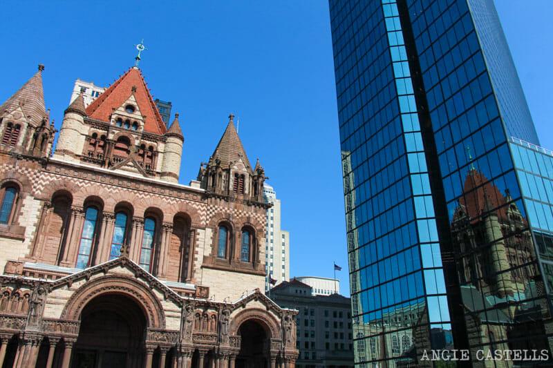 Qué ver en Boston en una excursión desde Nueva York - Trinity Church