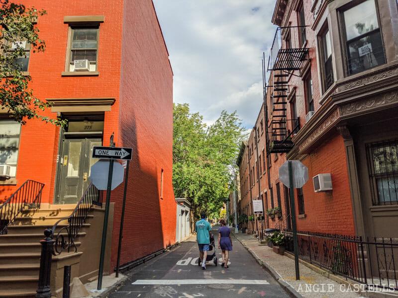 Verandah Place, en Cobble Hill, una de las calles más bonitas de Nueva York