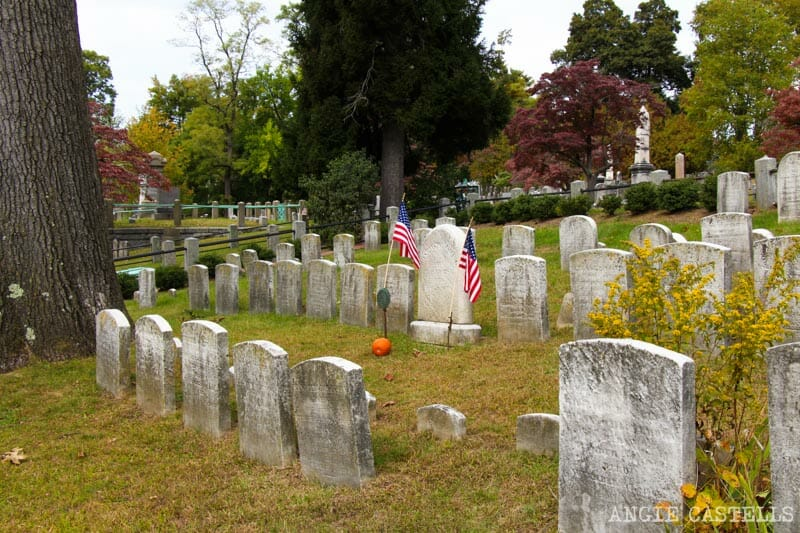 Visitar Sleepy Hollow - El Sleepy Hollow Cemetery y la tumba de Washington Irving