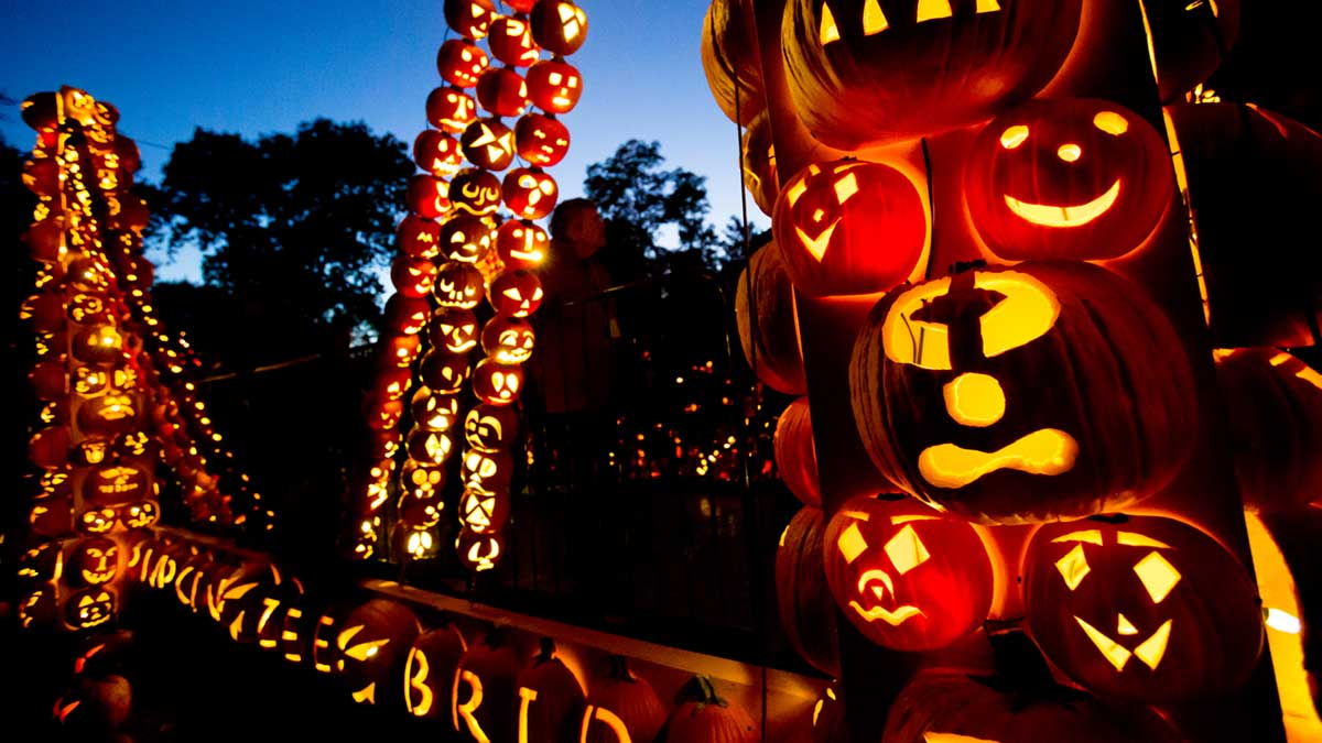 Halloween en Sleepy Hollow - The Great Jack'o Lantern Blaze