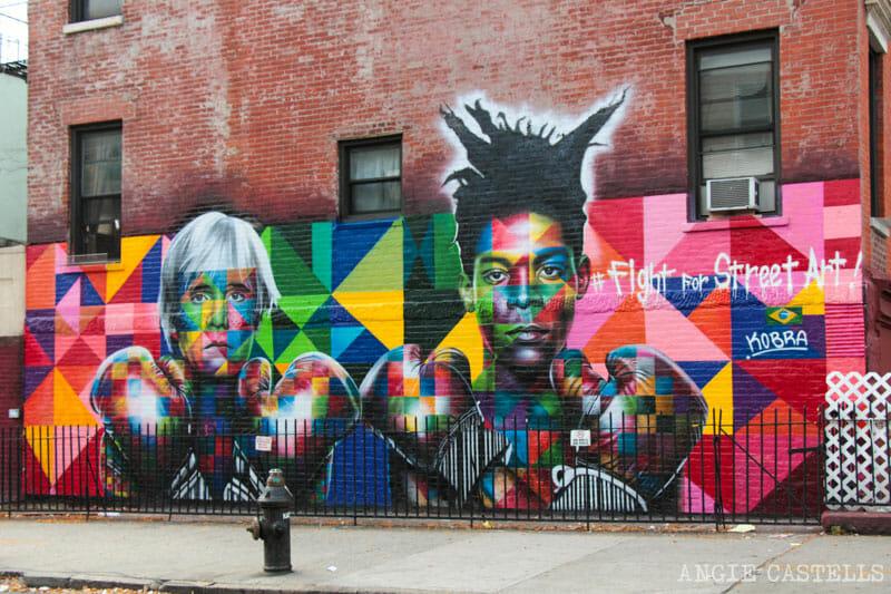 Guía de Williamsburg, Brooklyn - Arte urbano y mural de Kobra