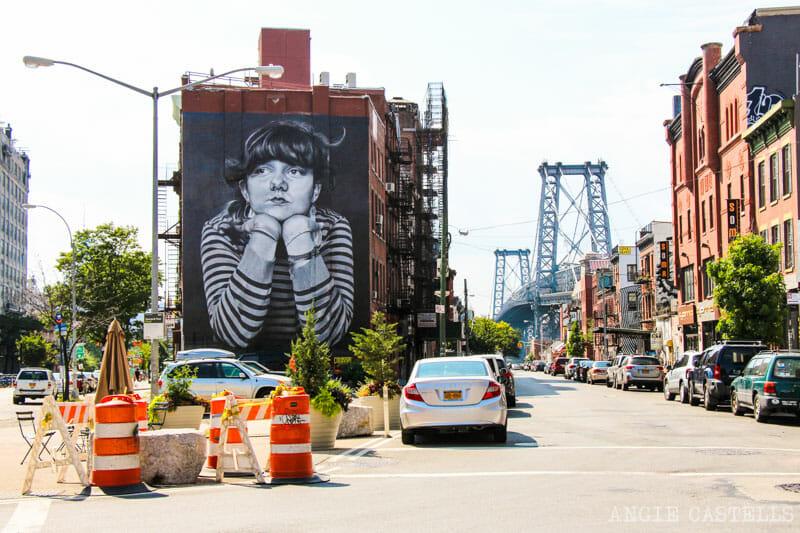 Guía de Williamsburg, Brooklyn - Arte urbano y mural de Mona Lisa