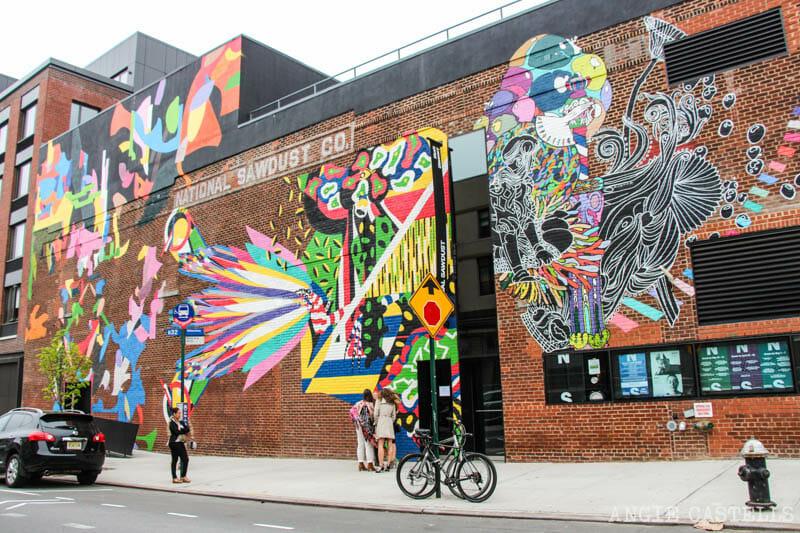Guía de Williamsburg, Brooklyn - Arte urbano en National Sawdust