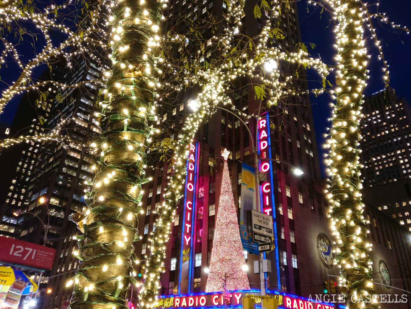 Qué hacer en Nueva York en Navidad - Radio City Music Hall