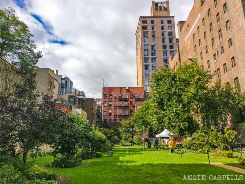 Lugares secretos de Nueva York - Cementerio Marble Cemetery