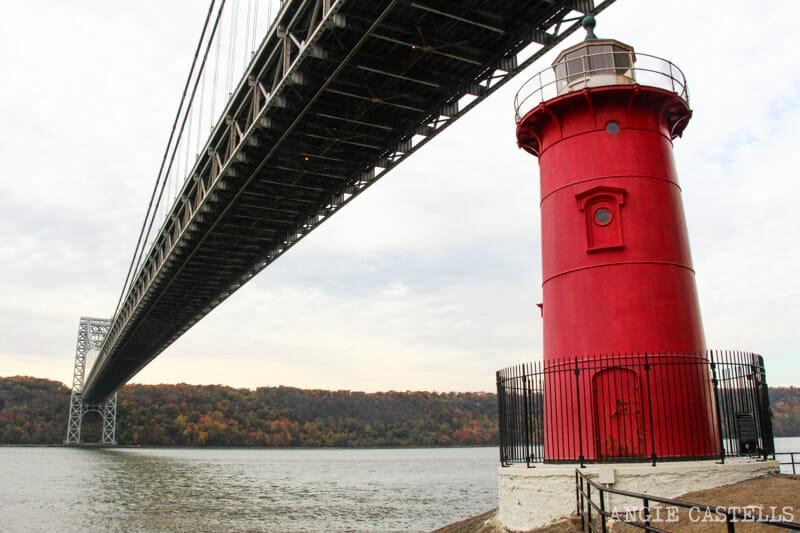 Lugares secretos de Nueva York - Little Red Lighthouse puente George Washington