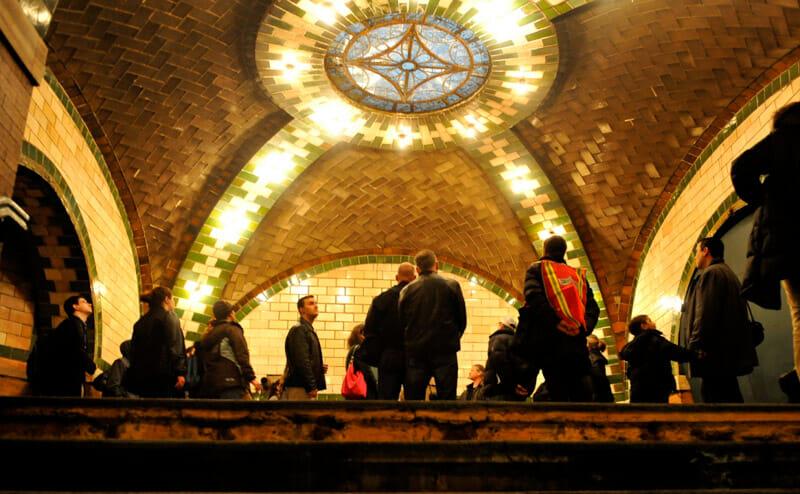 Lugares secretos de Nueva York - Estación Old City Hall