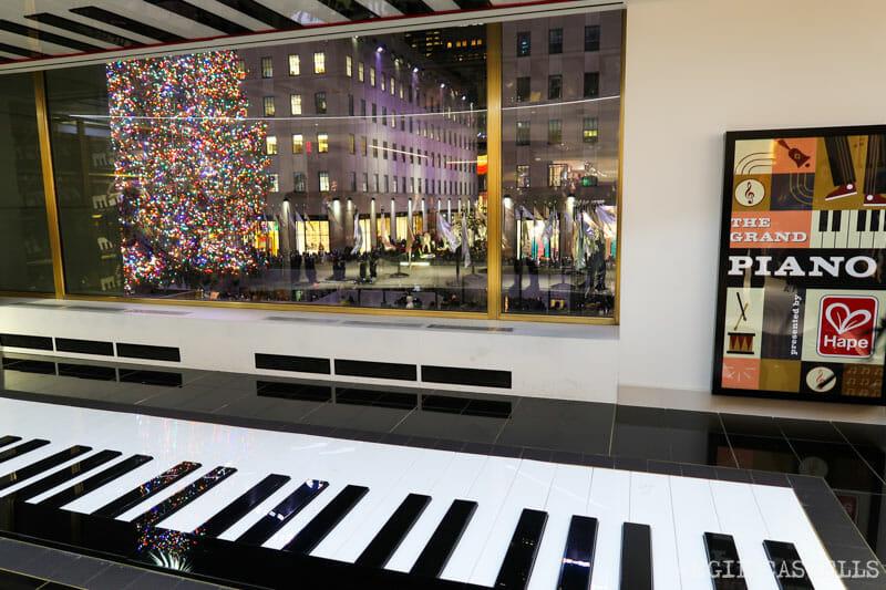 Visitar FAO Schwarz - El piano de Big