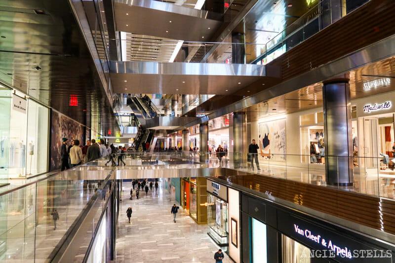 Guía para visitar Hudson Yards - Tiendas y restaurantes