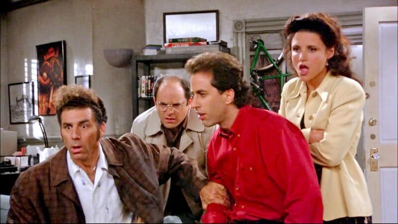 Las mejores series ambientadas en Nueva York - Seinfeld