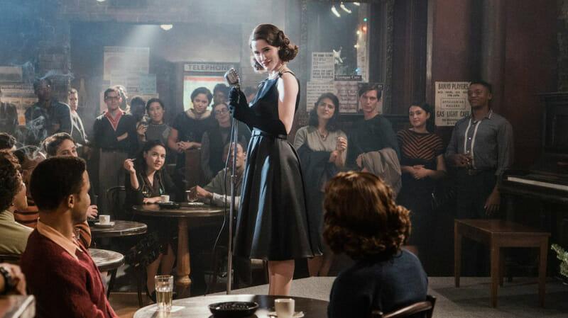 Las mejores series ambientadas en Nueva York - The marvelous Mrs Maisel