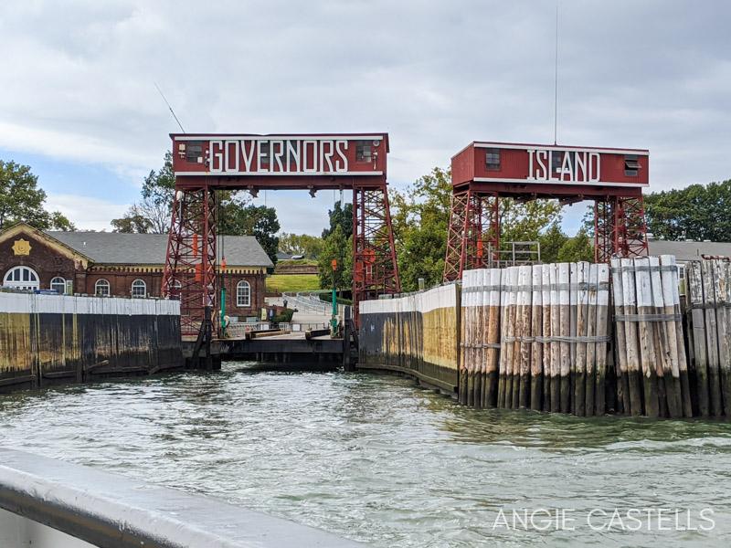 Visitar Governors Island en Nueva York - Ferry