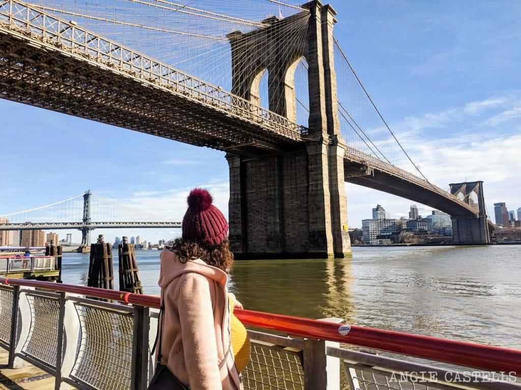 Consejos para viajar a Nueva York embarazada - Brooklyn Bridge