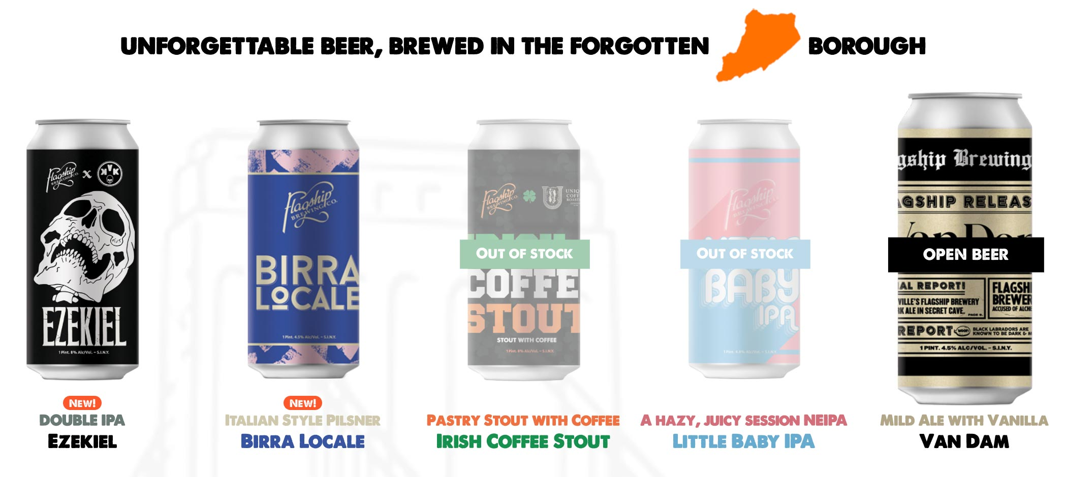Visitar Staten Island - La cervecería Flagship Brewing Co