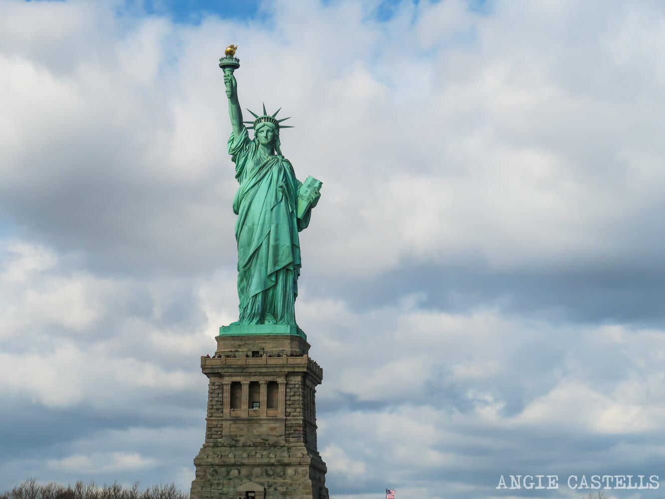 Freiheitsstatue New York 2,7 x 11 cm