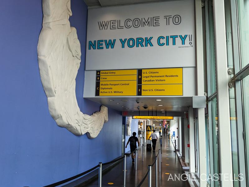 Cómo preparar un viaje a Nueva York - Aeropuerto y control de seguridad