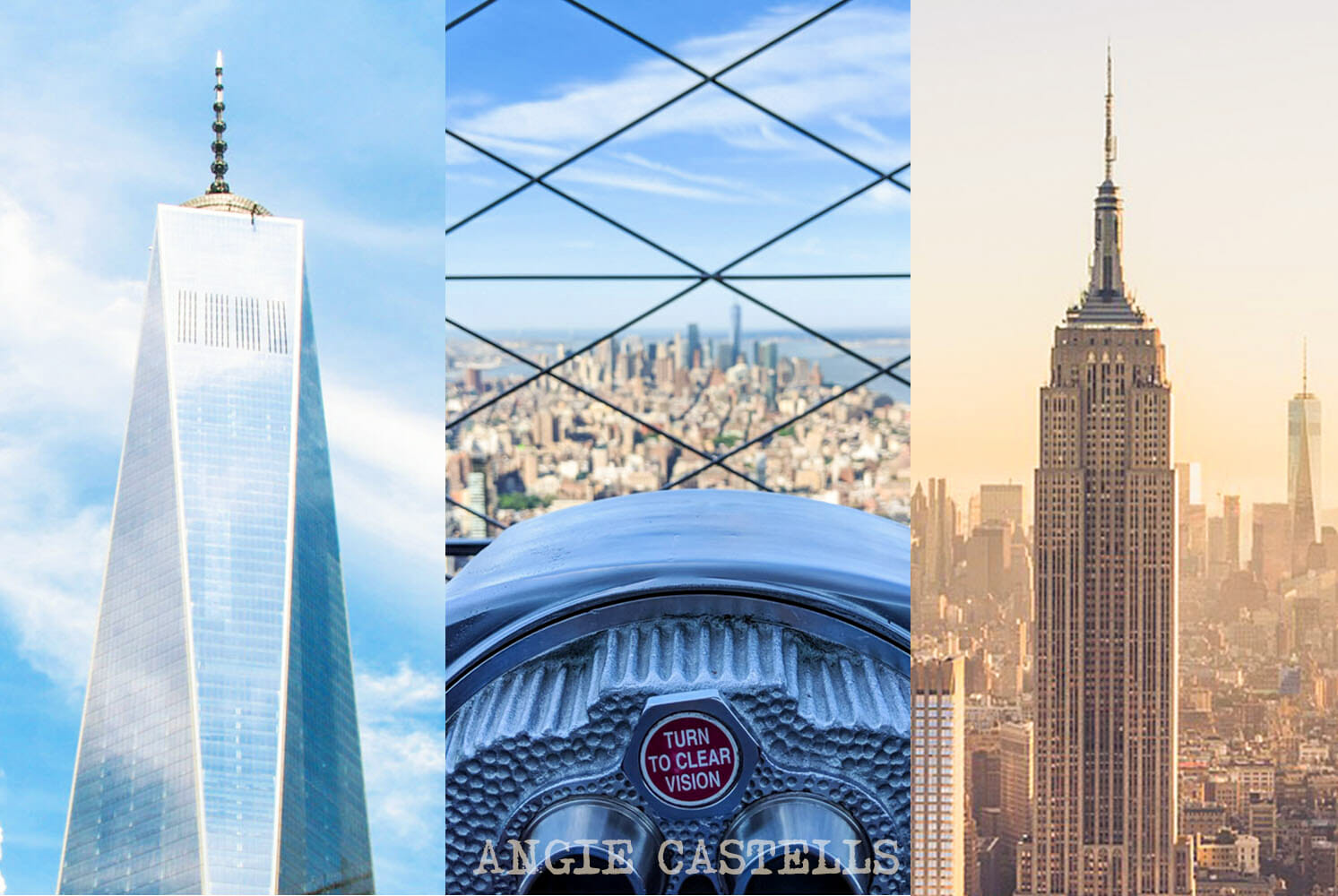 Empire State Building, Top of the Rock y One World - ¿Cuál elegir?