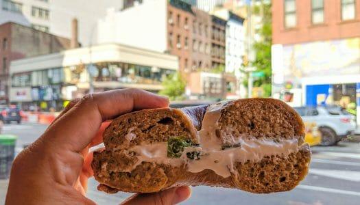 Los famosos bagels de Nueva York