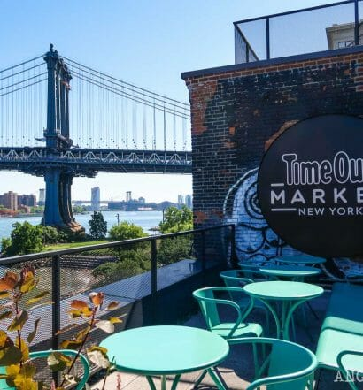 Visitar el Time Out Market de Nueva York, en Dumbo