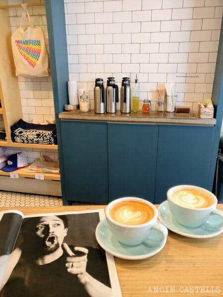 Tipos de café en Nueva York - Latte y capuccino