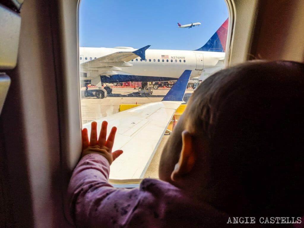 Consejos para volar con un bebé a Estados Unidos