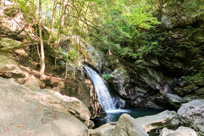 Qué ver en una ruta por Vermont - Las Bingham Falls