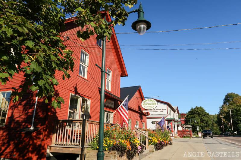 Qué ver en Vermont - El pueblo de Johnson